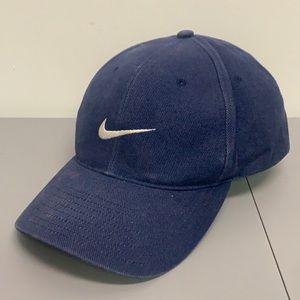 Vintage Nike Swoosh Hat Snapback Cap